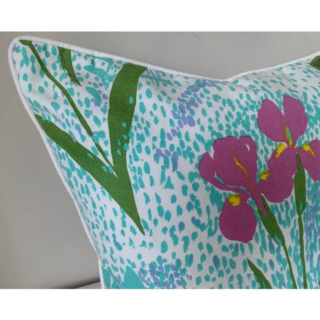 2010s Pair of Paule Marrot Brunschwig Fils Custom Pillows For Sale - Image 5 of 13