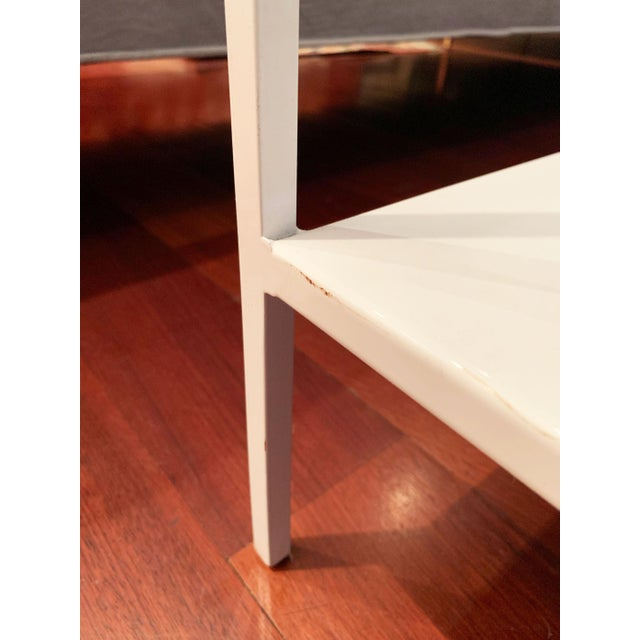 Room and Board Metal Shelving Unit For Sale - Image 9 of 10