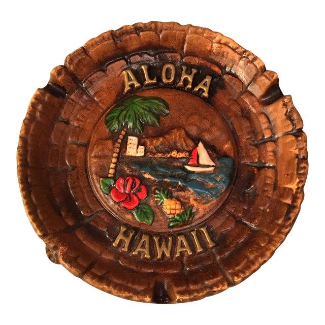 Vintage Aloha Hawaii Ashtray For Sale