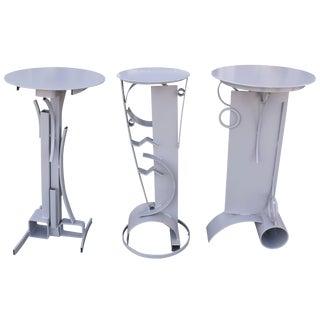 Three Custom Pedestals For Sale