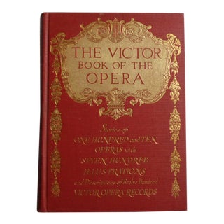 Antique Victor Book of the Opera For Sale