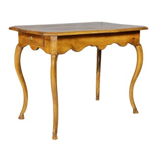 Louis XV Provincial Walnut Table For Sale