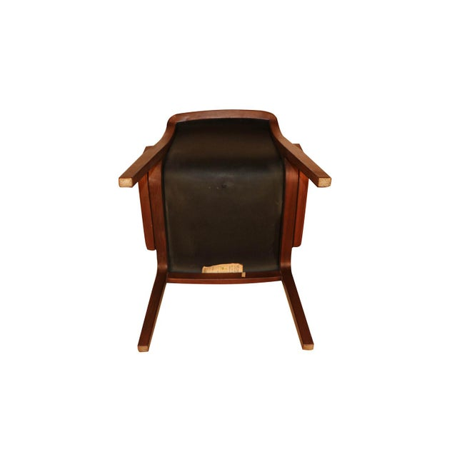 Mid Century Bill Stephens Knoll Bentwood Chair For Sale In Baltimore - Image 6 of 11