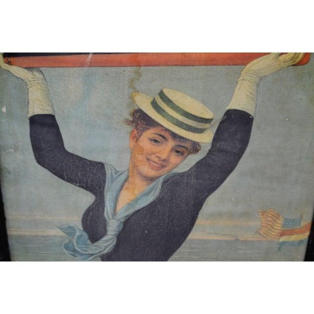Early 20th Century Victorian Jan Van Beers Framed Print For Sale - Image 5 of 11