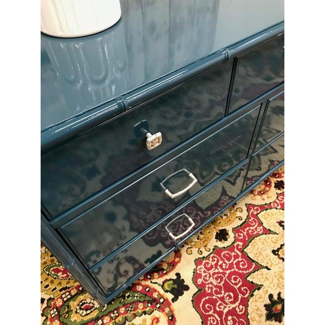 Blue Dresser | High Gloss Blue Dresser - Image 7 of 9