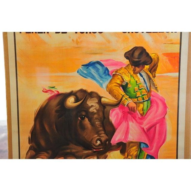 Charlton Heston 1960s Spanish Bullfight Poster For Sale - Image 4 of 5