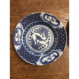 Chinese Porcelain Retriculated Plates - a Pair Preview