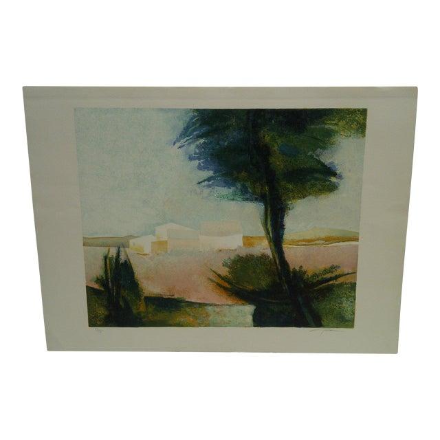 """Claude Gaveau """"Lavender"""" Limited Edition Print For Sale"""