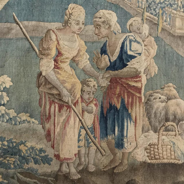 Renaissance Grand 17th Century Oudenaarde Tapestry For Sale - Image 3 of 13