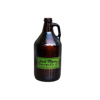Fort Myers Brewing Company, Florida Growler Beer Bottle