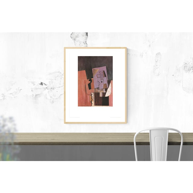 Sku: NR016 Artist: Pablo Picasso Title: La Guitare Year: 1989 Signed: No Medium: Offset Lithograph Paper Size: 35.5 x 27.5...