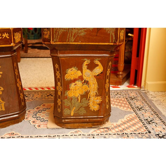 Pair of Chinese Sculptures For Sale - Image 4 of 5