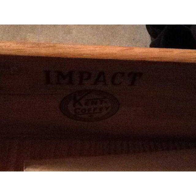 Kent Coffey Mid Century Walnut Nine Drawer Impact