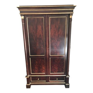 Ralph Lauren Home Collection Mahogany Media Armoire