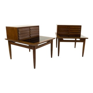 Merton Gershun for American of Martinsville Nightstands - A Pair For Sale