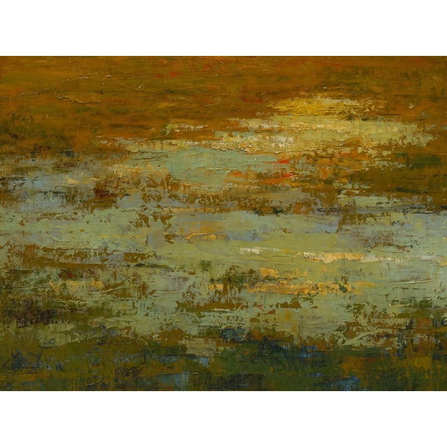 """September Harmony"" (1910) Tonalist Painting Oil on Canvas by Karl Emil Termöhlen For Sale - Image 9 of 13"