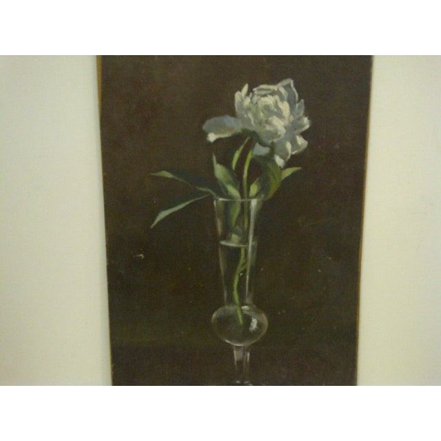 """""""The Flower"""" Original Frederick McDuff Painting For Sale - Image 4 of 8"""