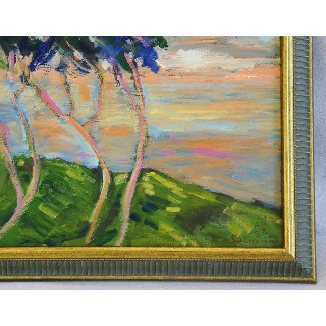 Juan Guzman Plein Air Landscape Painting For Sale In Los Angeles - Image 6 of 10