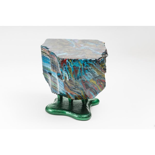 Contemporary Flow Series Hunk Table, Usa For Sale - Image 3 of 13