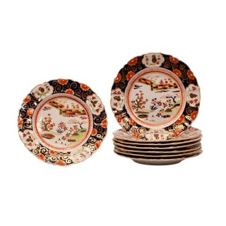 1830s English Manson's Ironstone Bowls - Set of 8 For Sale