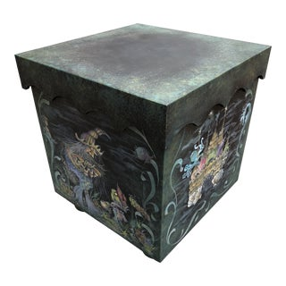 Modern Halloween Under the Sea Heirloom Box For Sale