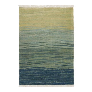 Rug & Relic Contemporary Landscape 2'1 X 2'8 Flatweave Turkish Kilim