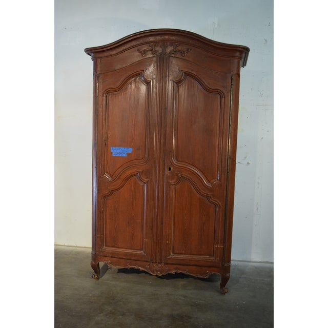 18th Century Louis XV French Pine Armoire For Sale In Denver - Image 6 of 6