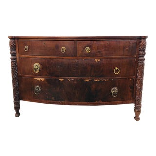 Antique Bowfront Chest For Sale