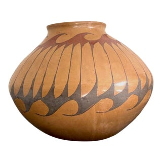 1950s Large Mata Ortiz Pottery Jar For Sale