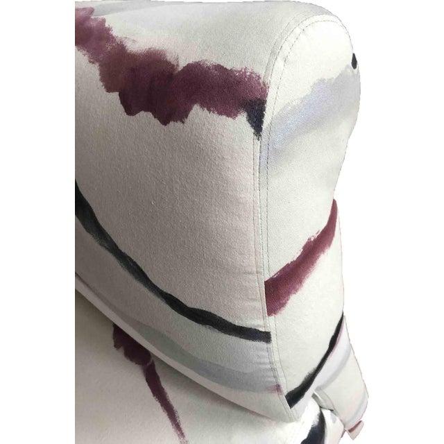 Sherrill Furniture Modern Sherrill Furniture Slipper Chairs- A Pair For Sale - Image 4 of 8