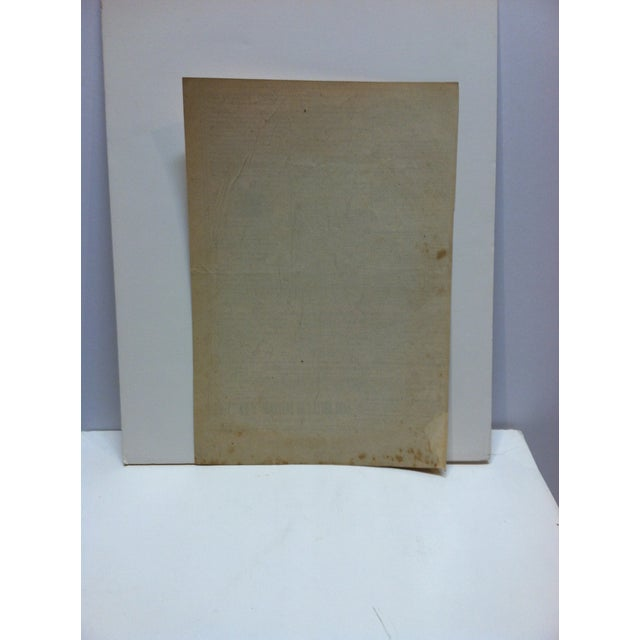 """Early 20th Century Vintage French """"Mr. Dumeril"""" Couis De Pathologie Lithograph For Sale - Image 5 of 6"""