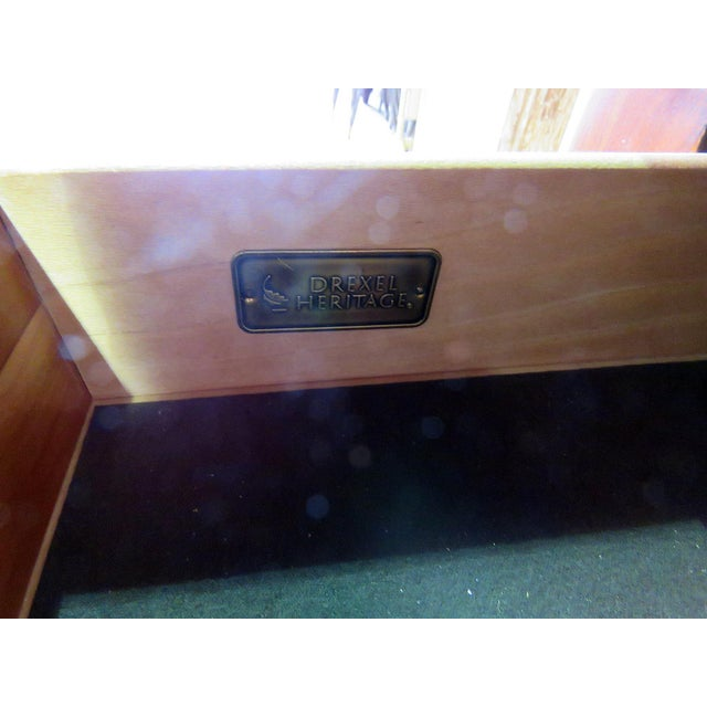 Traditional Drexel Heritage Continental Style Commode For Sale - Image 3 of 9