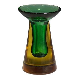 Flavio Poli for Seguso Vetri d'Arte Candle Holder For Sale