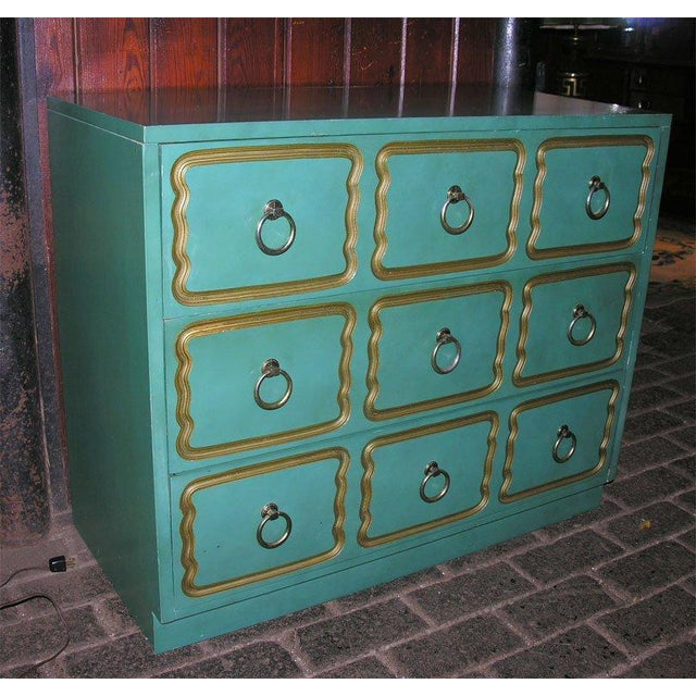 """Dorothy Draper Classic """"Espana"""" Chests in the Style of Dorothy Draper - A Pair For Sale - Image 4 of 9"""
