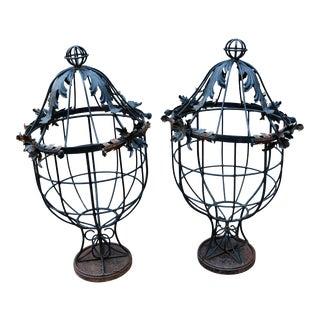 20th Century Decorative Garden Urns - a Pair For Sale