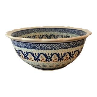 Ceramika Artystyczna Polish Pottery Bowl