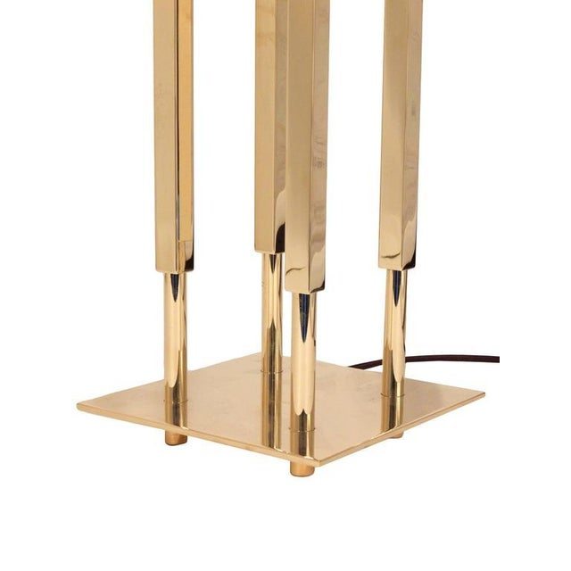 Pair of Stiffel Parzinger Style Lamps - Image 6 of 10