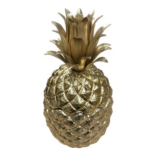 1960s Vintage Mauro Manetti Pineapple Ice Bucket For Sale