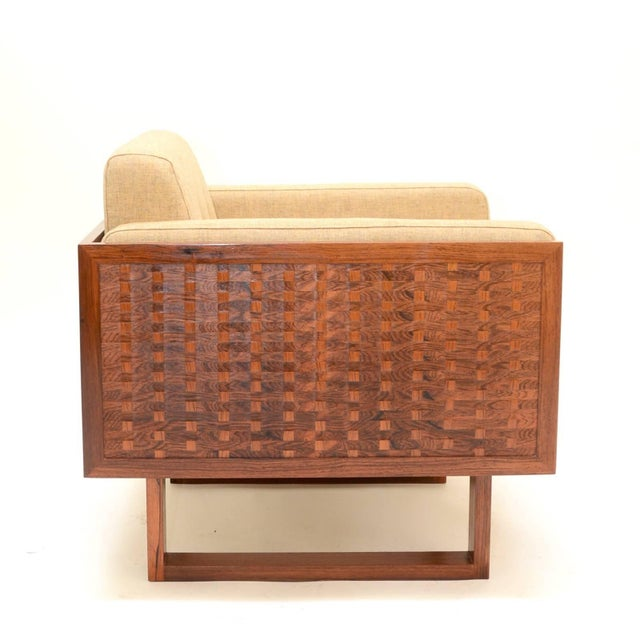 Mid-Century Modern Poul Cadovius Chair in Rosewood for France & Son For Sale - Image 3 of 11