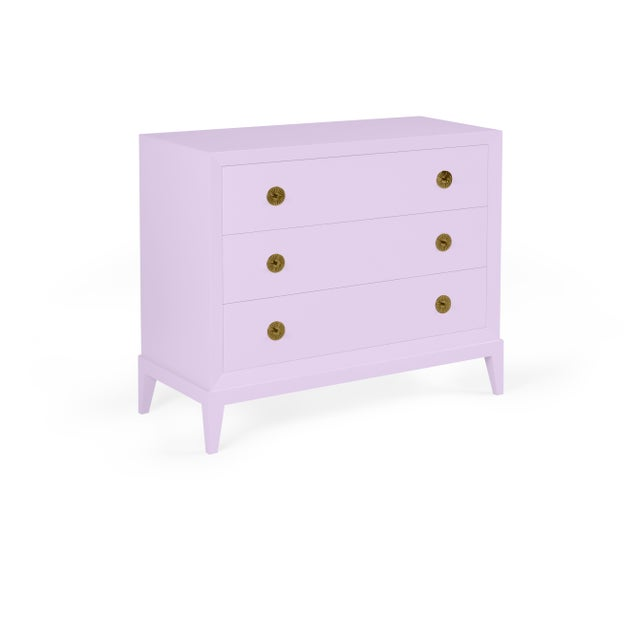 Transitional Casa Cosima Hayes Chest, Lily Lavender For Sale - Image 3 of 3
