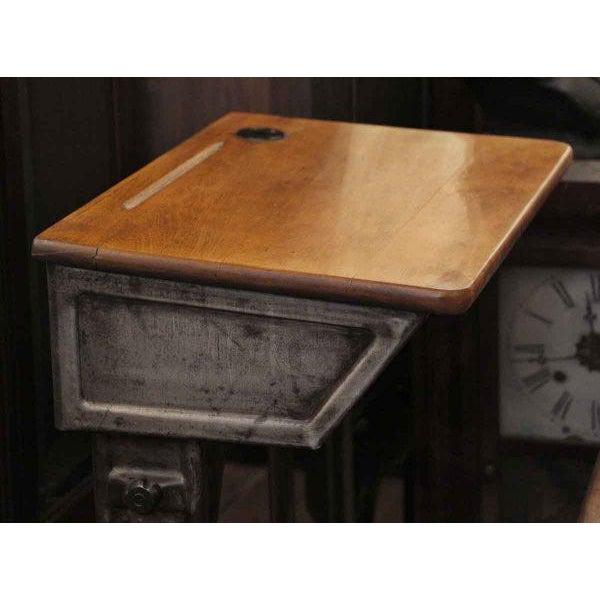 Antique Childrens School Desk - Image 3 of 7