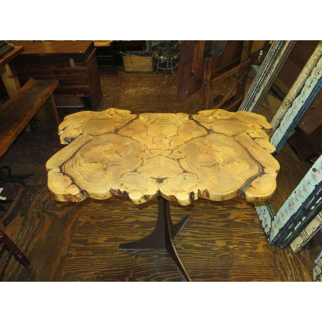 Customizable Book Matched Banyan Table - Image 2 of 6