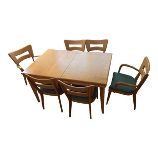 Vintage Heywood Wakefield Dining Set - Set of 7