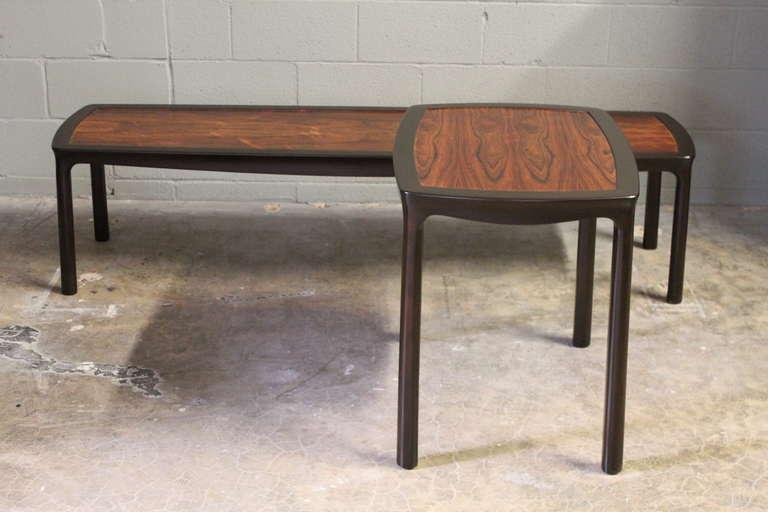 Rosewood Table By Edward Wormley For Dunbar   Image 8 Of 10