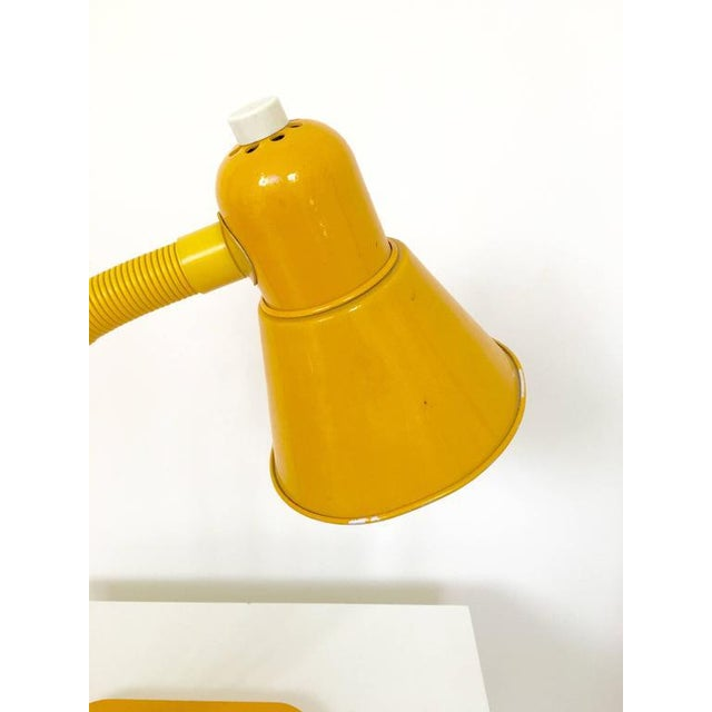 French Yellow Desk Lamp - Image 7 of 10
