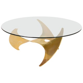 Propeller Coffee Table by Knut Hesterberg for Ronald Schmitt For Sale
