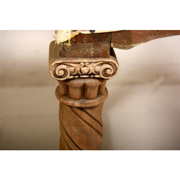 Pair of Antique Hand-Carved Chairs - Image 5 of 8