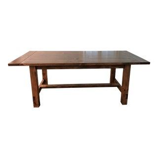 Custom Made Modern Farm Table For Sale