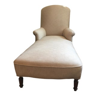 Louis Philippe Chaise Lounge For Sale
