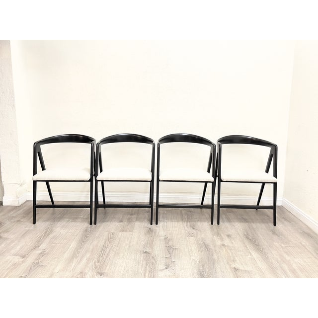 Mid Century Modern Italian Dining Chairs For Sale - Image 13 of 13